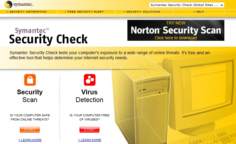 (Direct Link) Norton Online Virus Scan - Free Online Virus Scanner