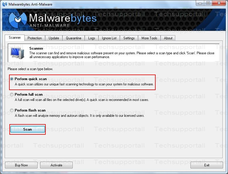 How to use malwarebytes4