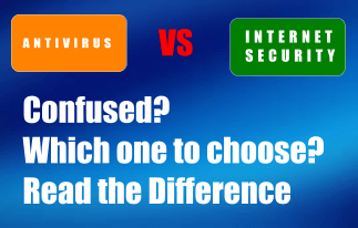 Antivirus and Internet Security Difference