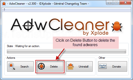 How to delete adware