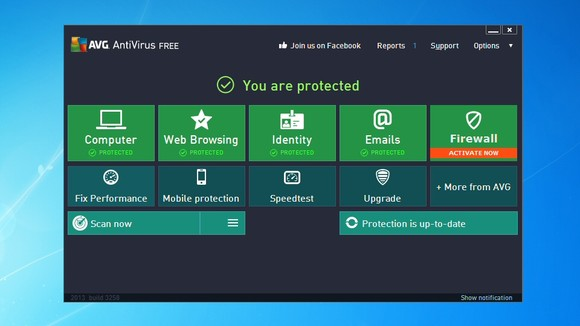 Download only the Best free antivirus for windows 7 in 2014