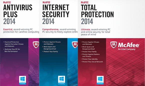 McAfee 2015 download