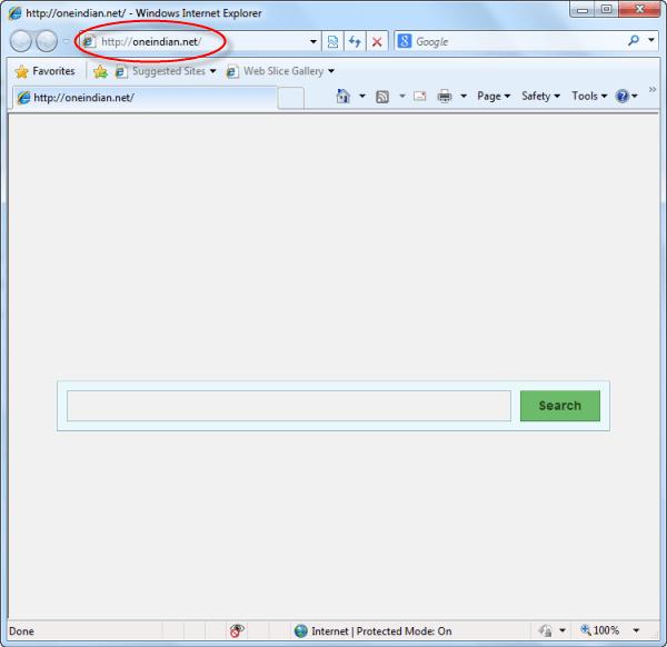 remove-oneindian.net-homepage
