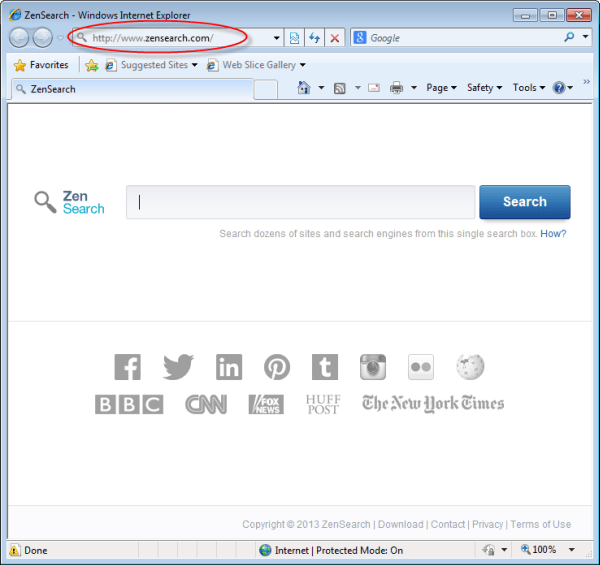 (Solved) How To Remove ZenSearch.com From Firefox-Chrome-IE