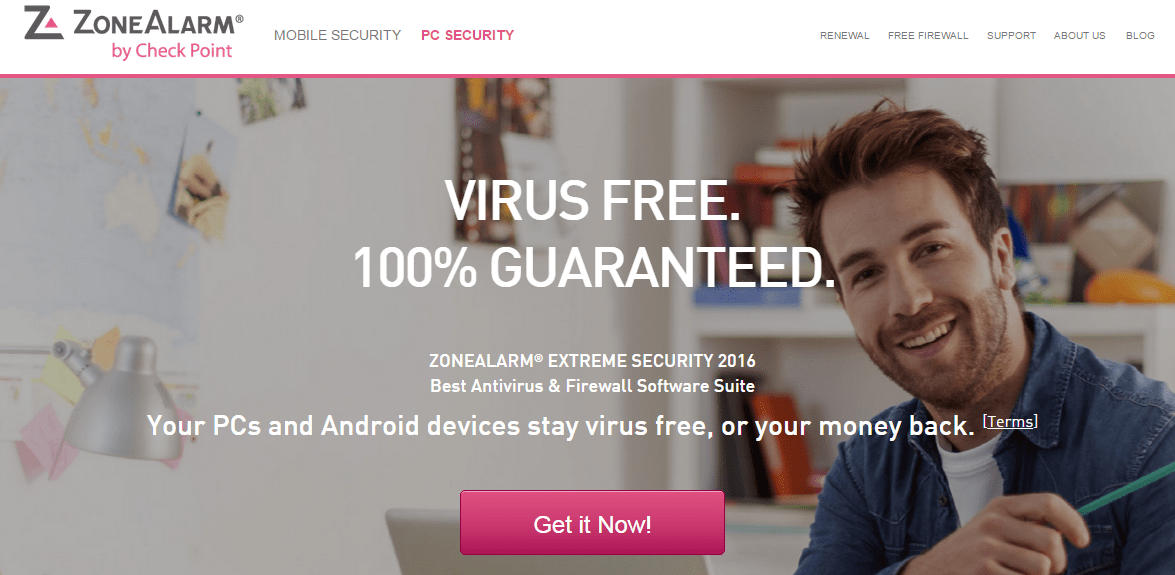 ZoneAlarm 2015 download and coupon code