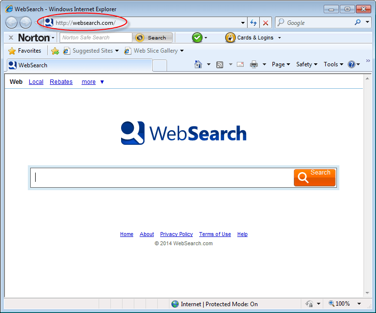 How To Remove WebSearch.com