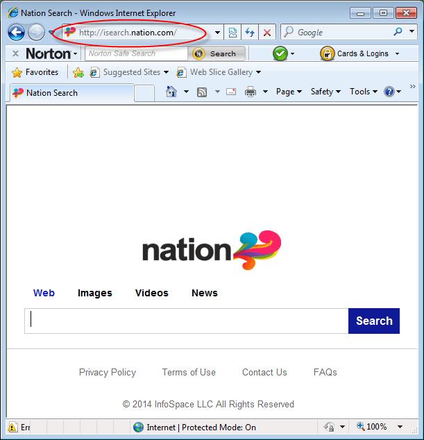 isearch.nation.com-homepage-screenshot