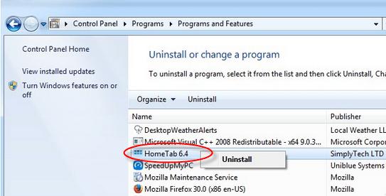uninstall-hometab-window