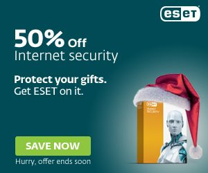 ESET 2016 Holiday deal for 2015
