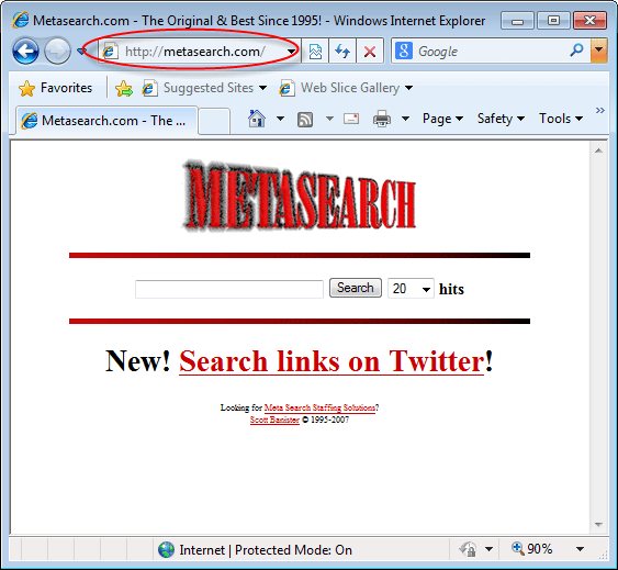 MetaSearch.com Removal Help