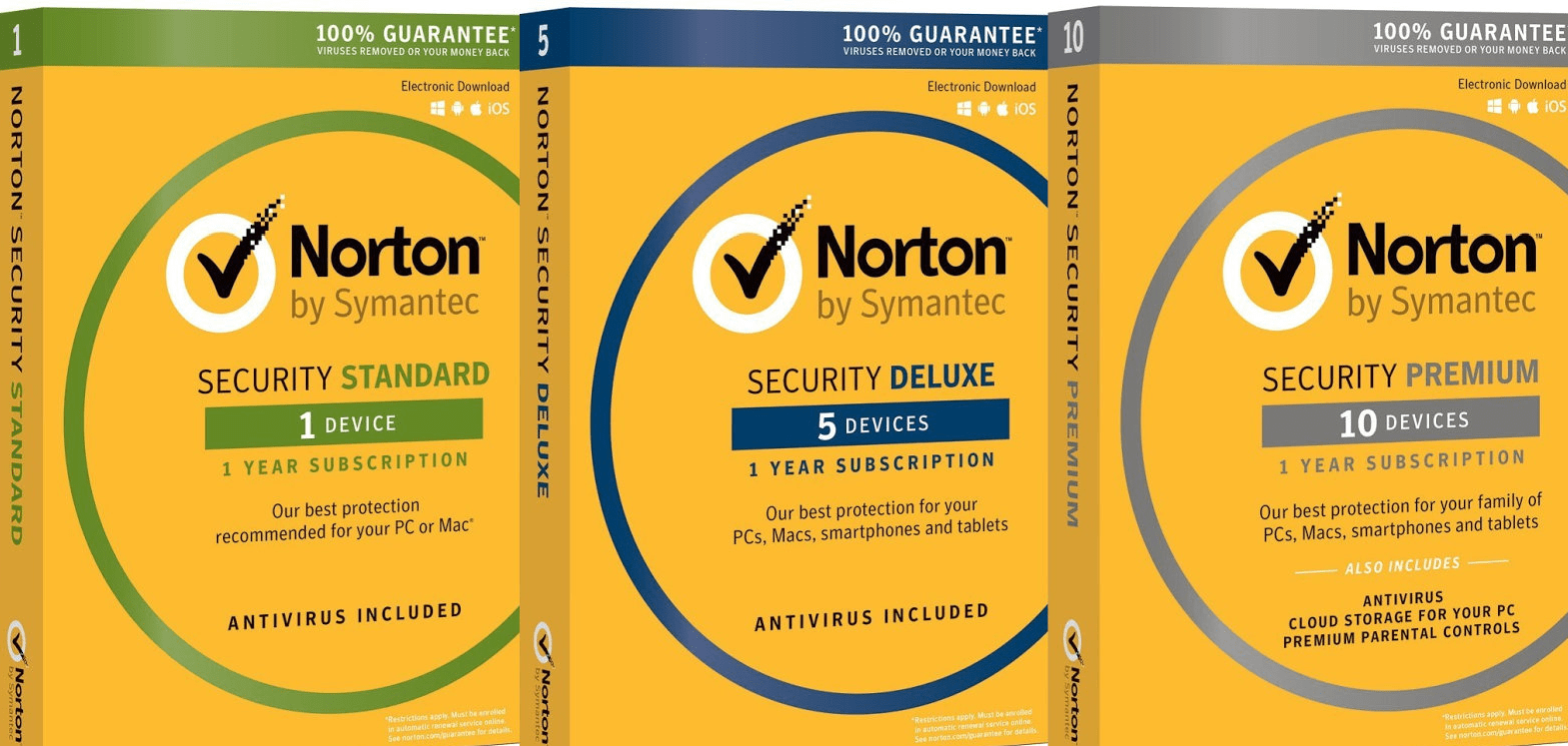 Norton 360 vs security suite