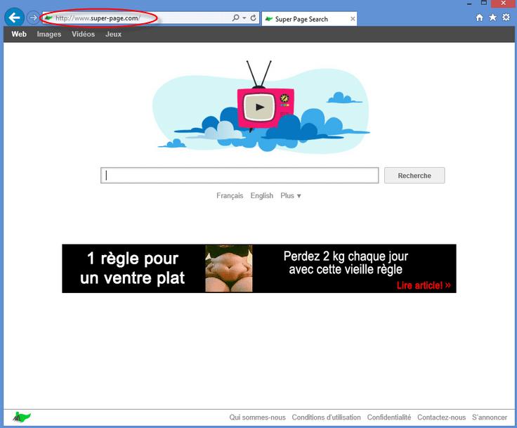Super-page.com Homepage Image