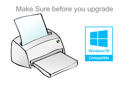 Make sure your printer is compatible with Windows 10. Before your upgrade your windows