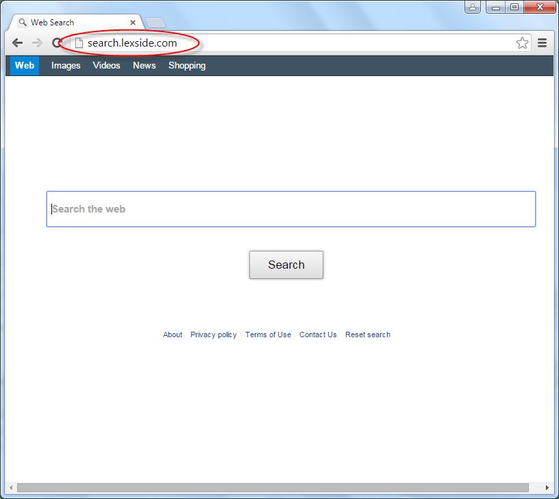 Search.lexside.com Homepage Image