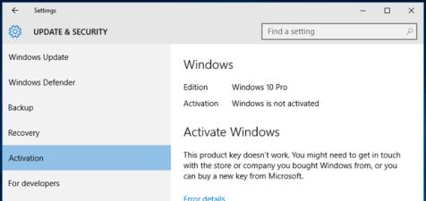 Activate Windows 7