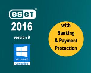 ESET 2016 - version 9 released