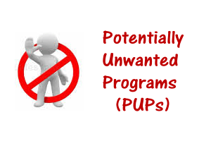Potentially Unwanted Programs or Applications