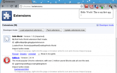 Install / Uninstall Extensions From Chrome Browser