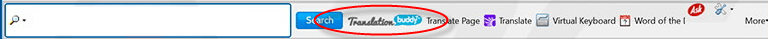 TranslationBuddy Toolbar Image