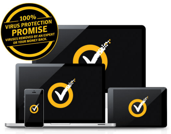 Norton Security Virus free Promise with discounted price
