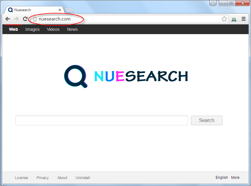 Nuesearch.com Homepage Image