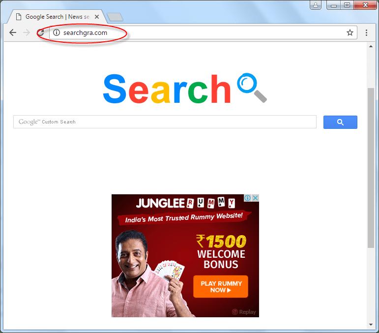 Searchgra.com Homepage Image