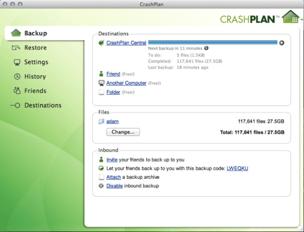 CrashPlan-data-backup-Free