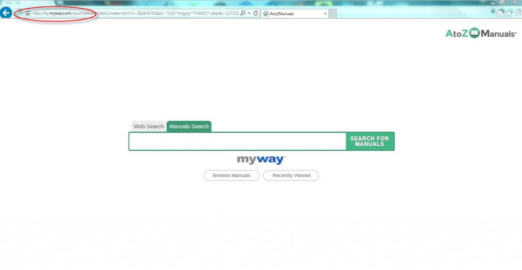 Atozmanuals Homepage Image