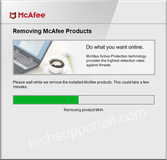 How to uninstall or remove McAfee completely