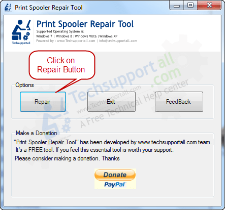 How to fix print spooler not working issue