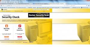 Norton Online Scan