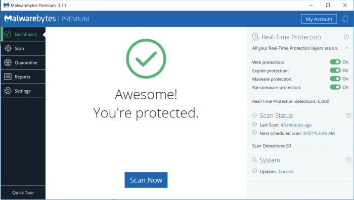 malwarebytes.org free version