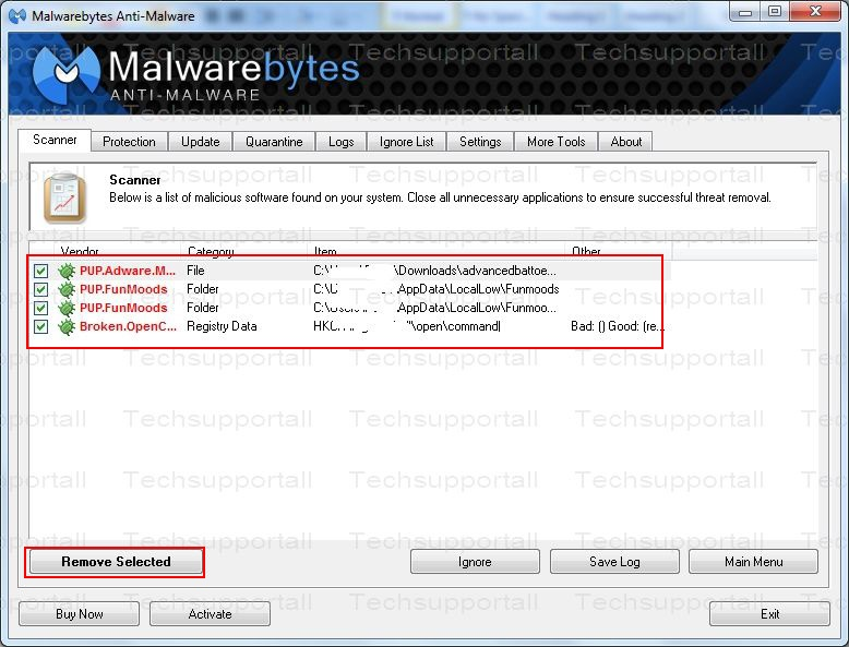 How to use malwarebytes6