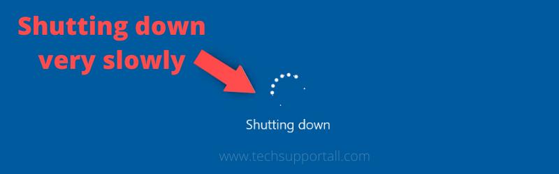 slow shutdown fix