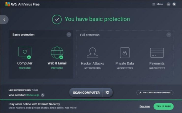 Download AVG Antivirus Free 2017