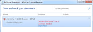 This file contained a virus and was deleted