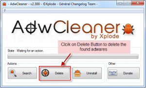 How to delete adware