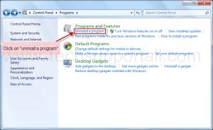 uninsatll a program3