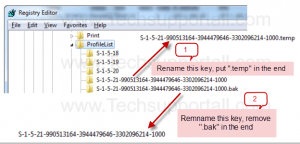 How to Fix Temporary Profile in Windows 7