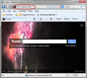 Tuvaro-search-page-screenshot