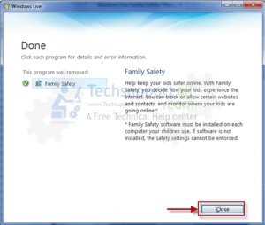 windows-live-essential-family-saftey-uninsatll-step5