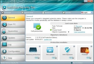 "How to Remove ""Antivirus Security Pro"" virus ?"