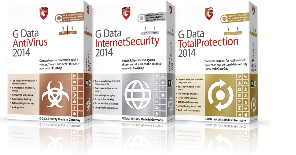 G data 2014 download and promo code