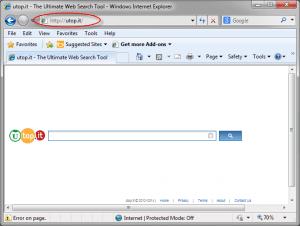 Utop.it-page-screenshot