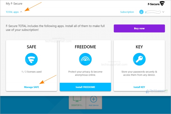 How to install F-secure