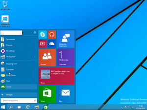 Windows 10 Technical Preview snap3