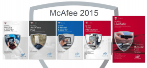 McAfee 2015 download and coupons