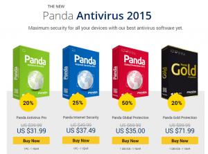 Panda antivirus 2015 discount
