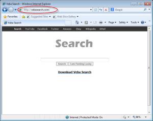 Vebasearch.com Homepage Removal Help