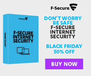 F-Secure Black Friday / Cyber Monday Promo